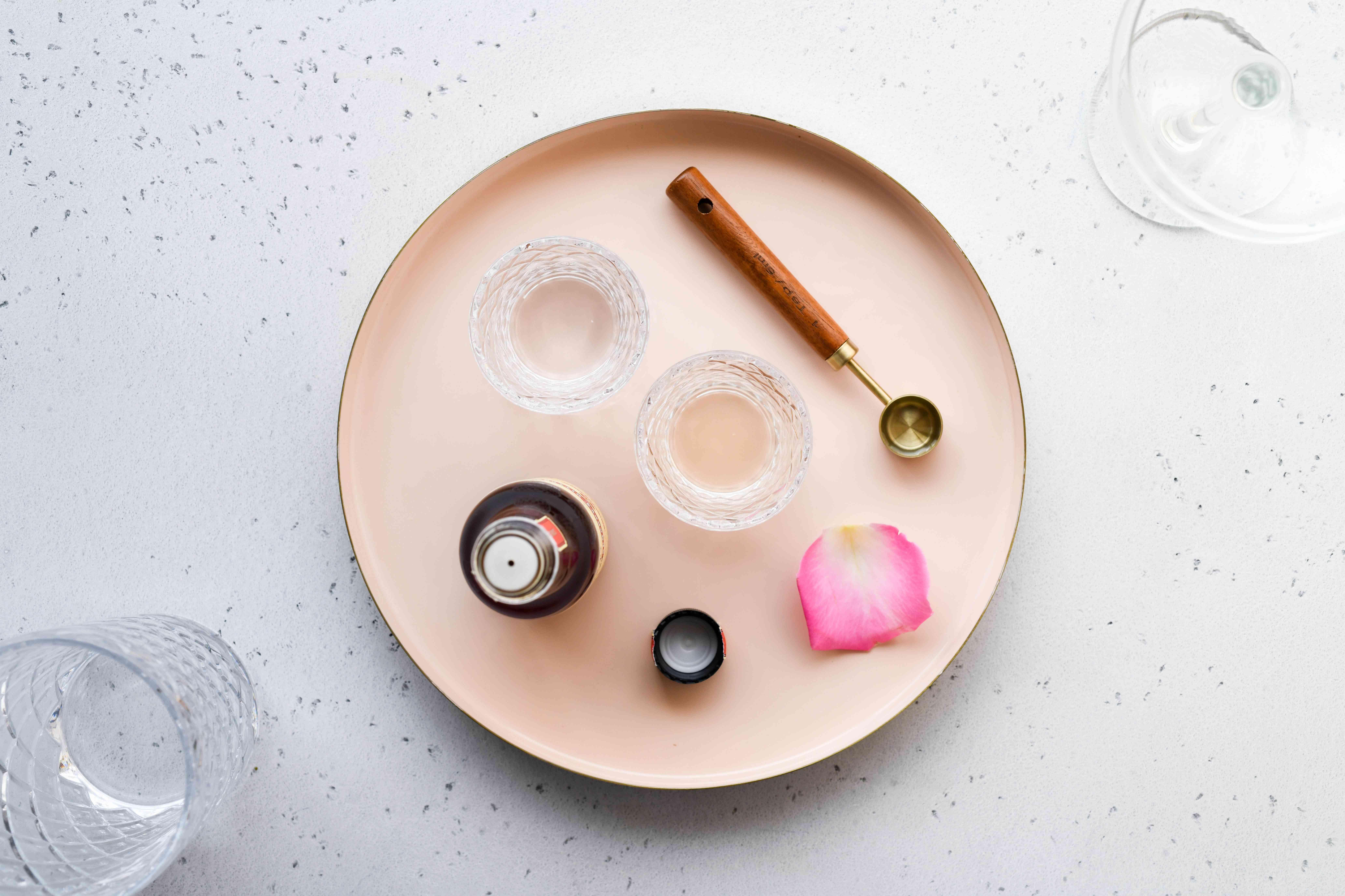 Rose Martini ingredients