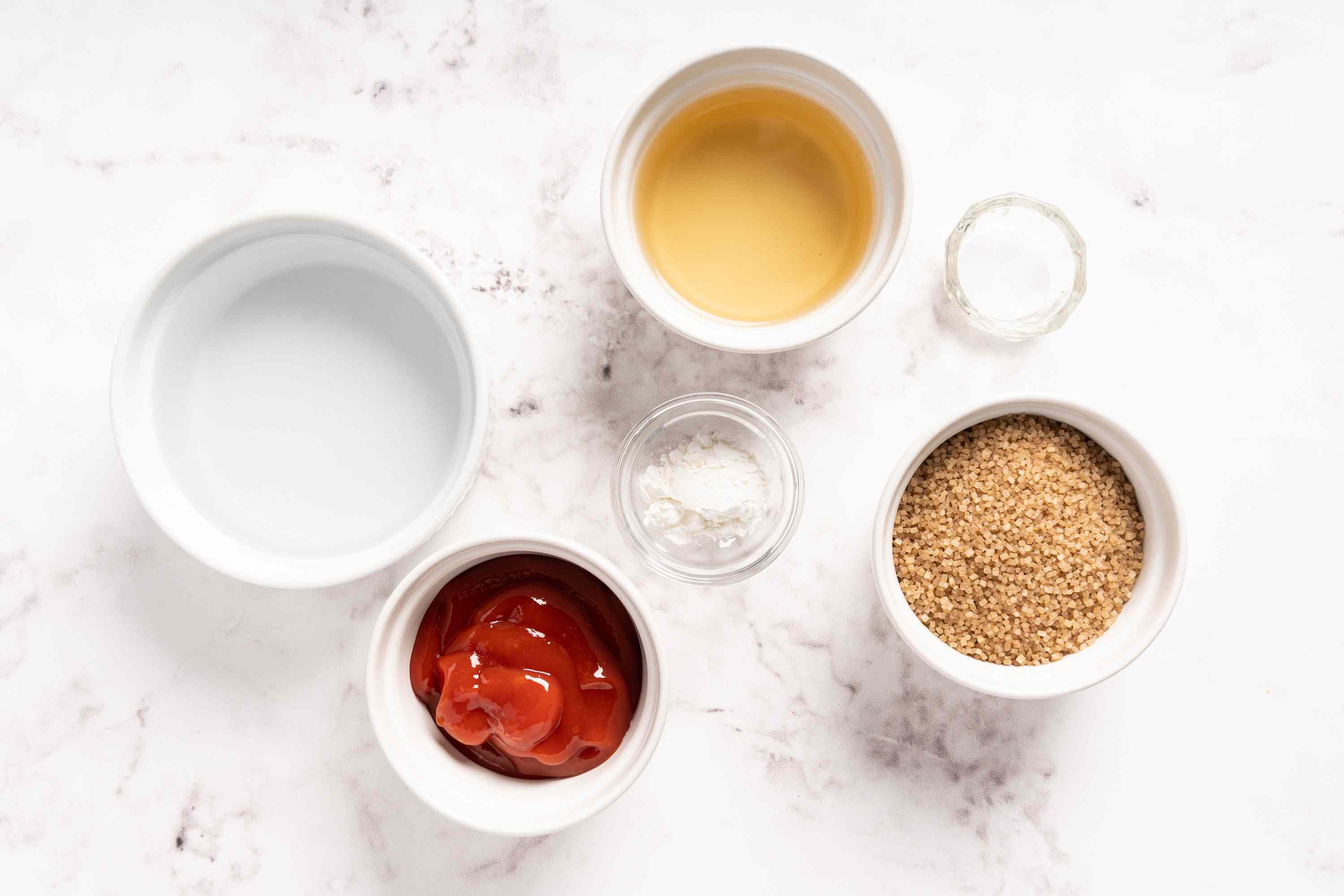 Chinese Sweet and Sour Sauce ingredients