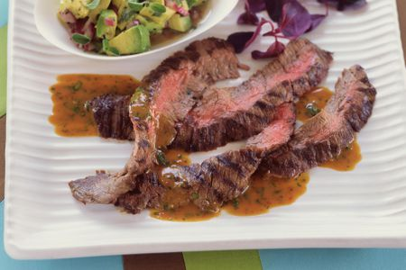 Marinated And Grilled Skirt Steak Recipe