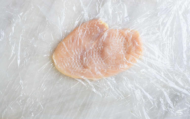 pound chicken