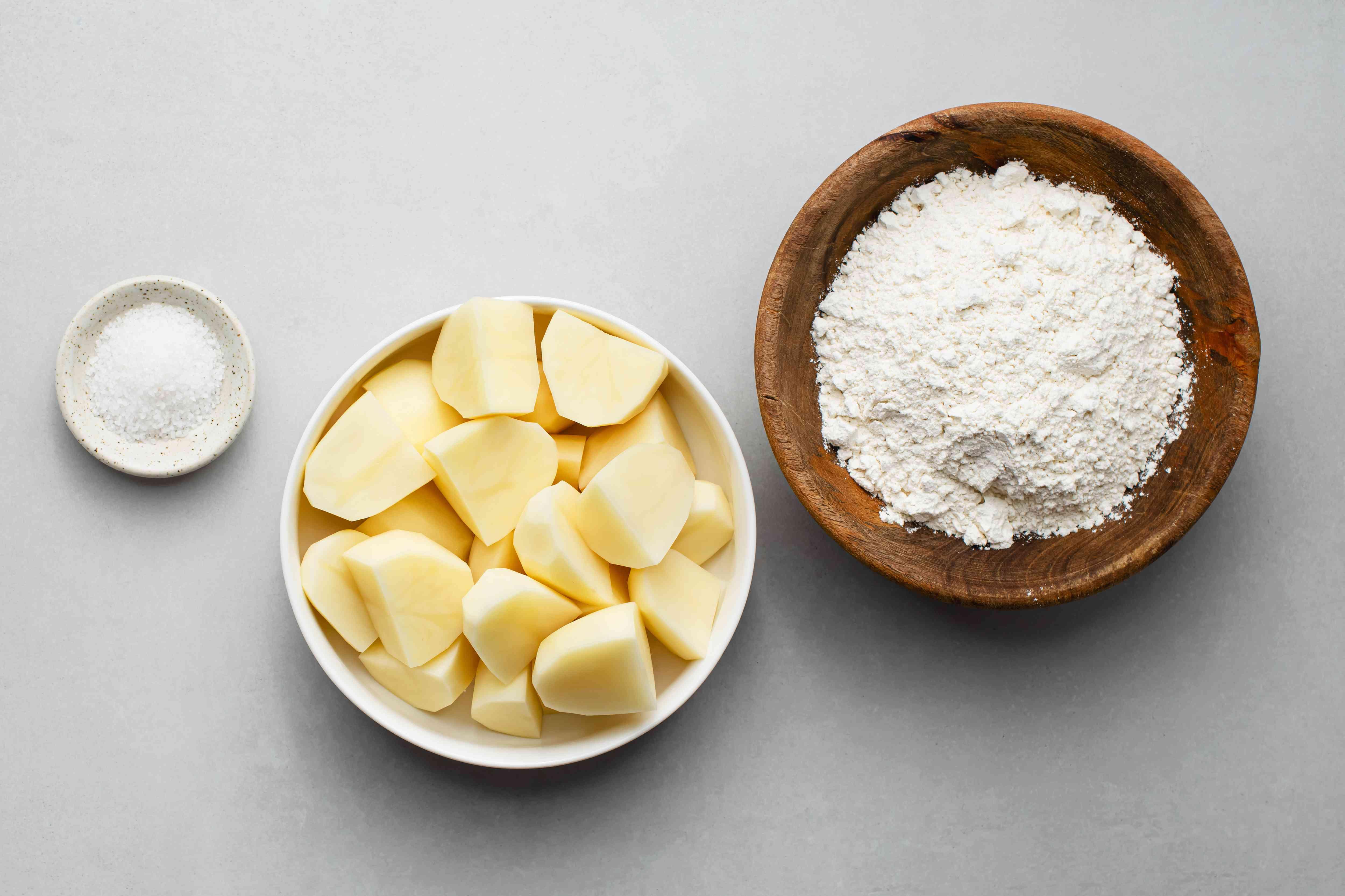 Classic Italian Potato Gnocchi ingredients