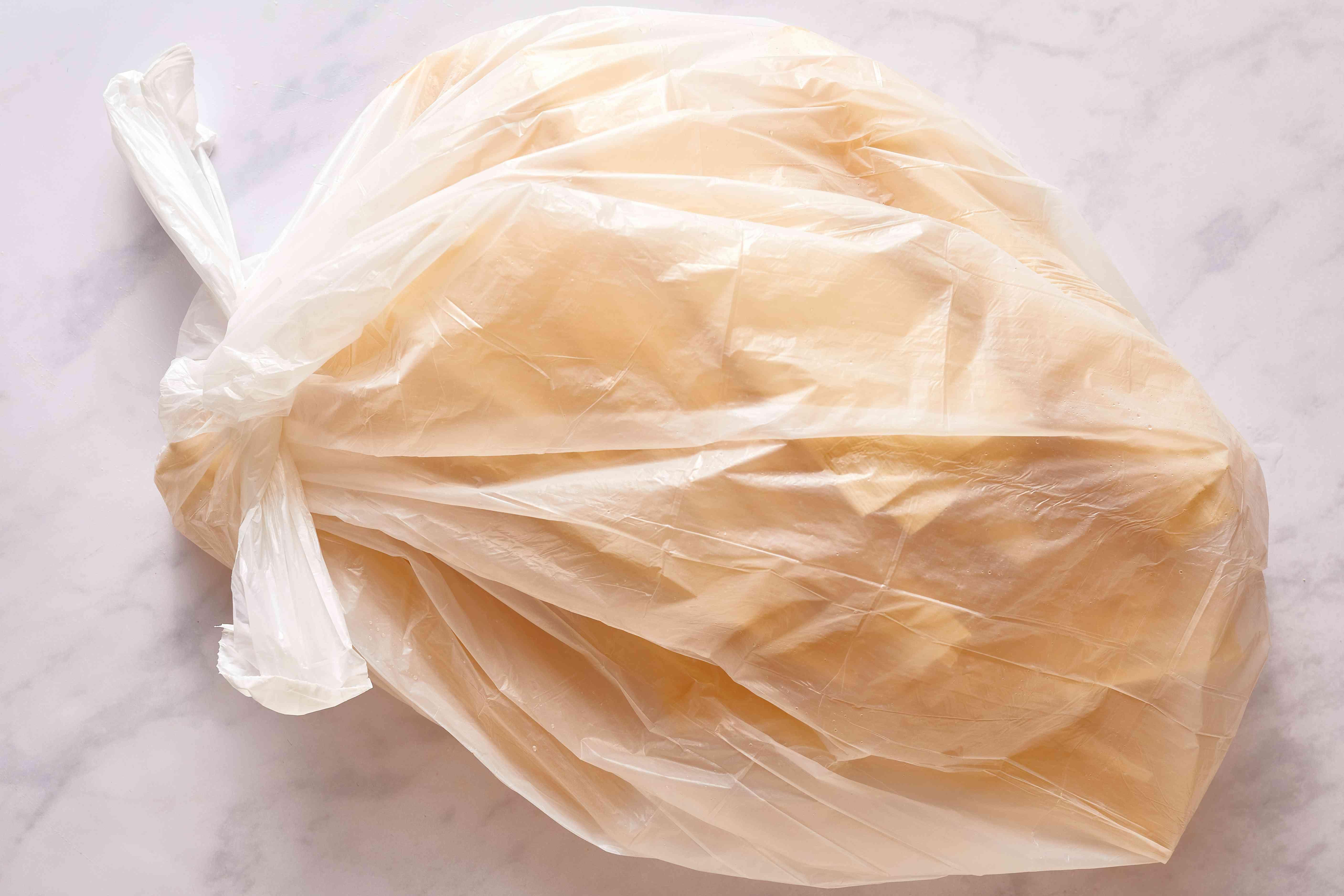 corn husks in a bag