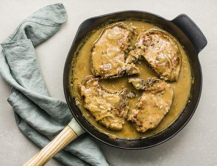 Smothered pork chop recipe