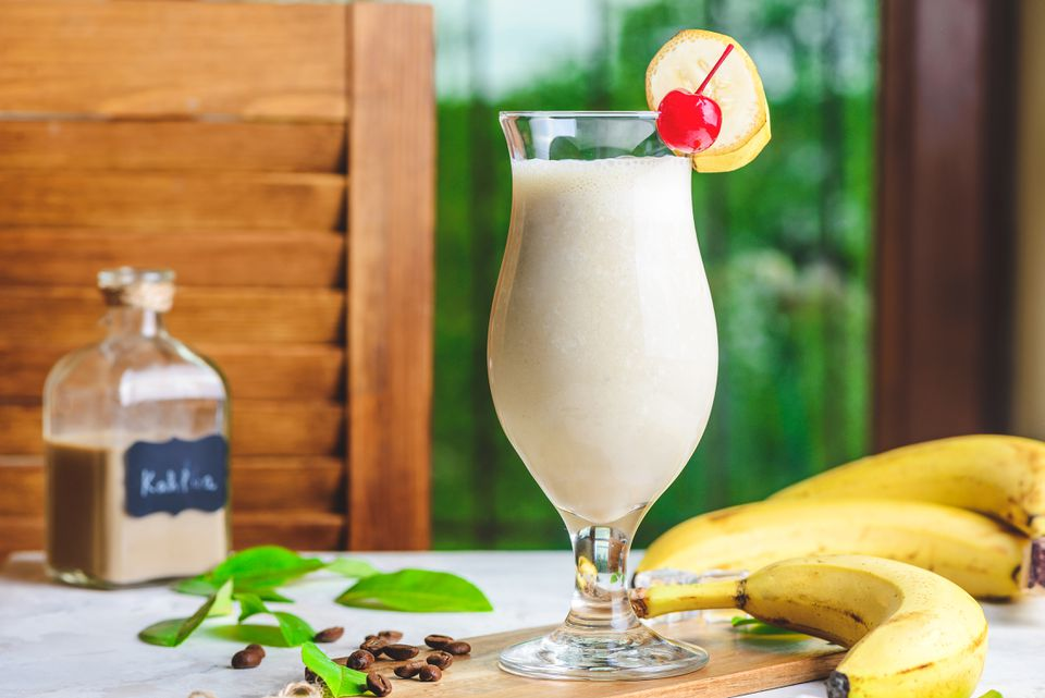 Dirty banana recipe