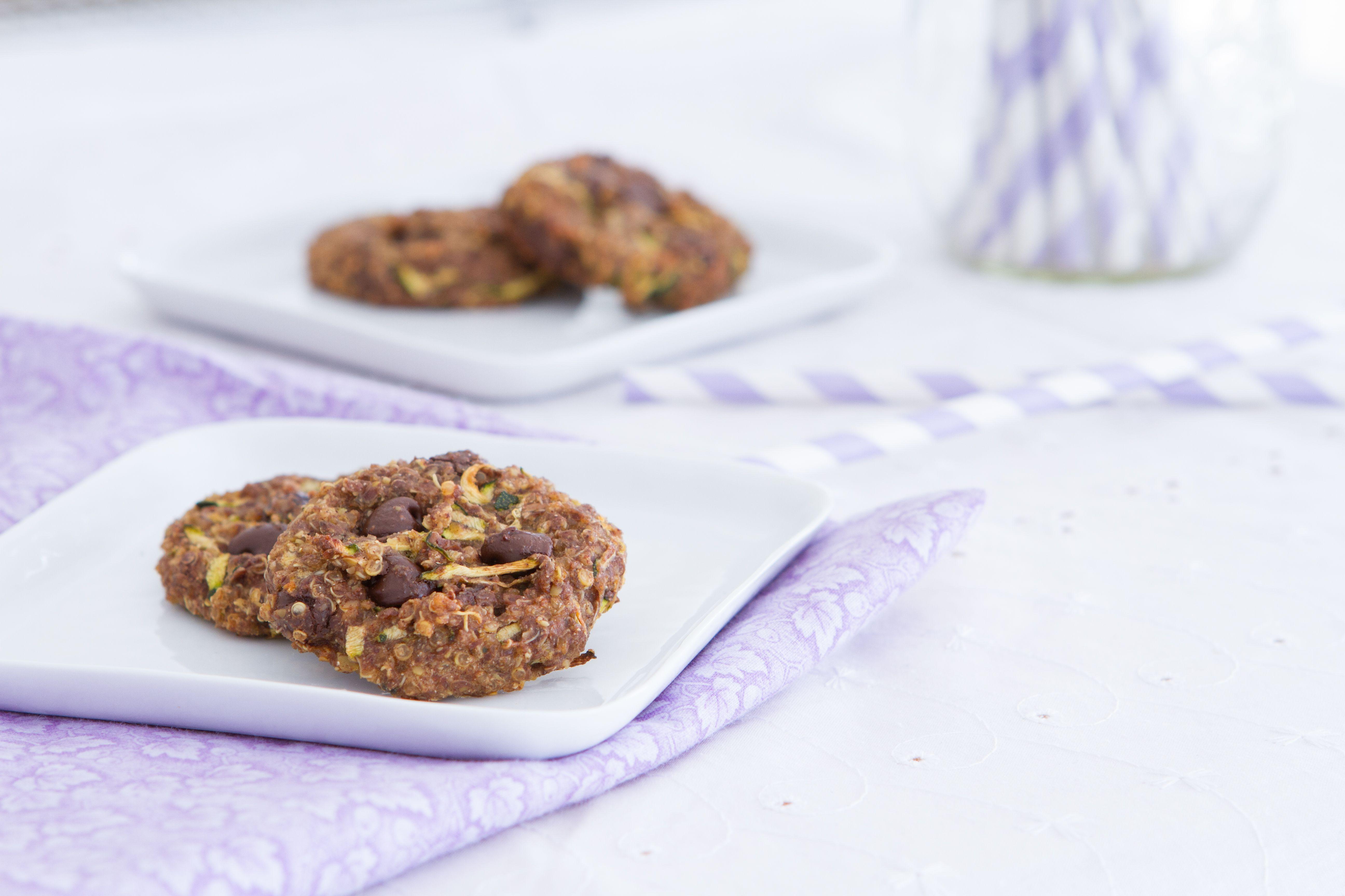Quinoa Chocolate Breakfast Cookies