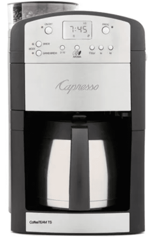 Capresso Coffee Team 10-Cup Digital Coffeemaker