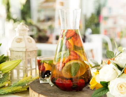 Garden Party Cocktails With Fresh Ingredients
