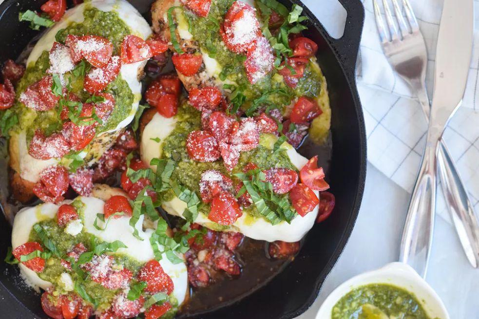 Copycat Olive Garden Chicken Margherita