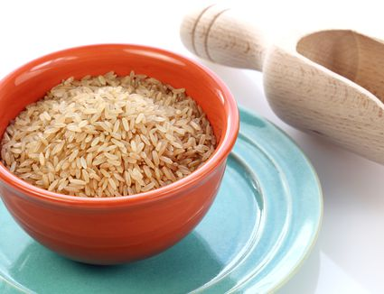 Why is brown rice brown?
