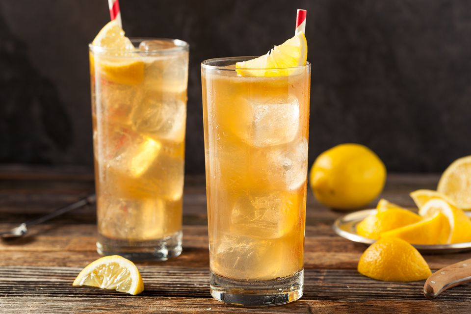 hawaiian iced tea cocktail