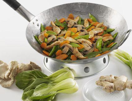 Chicken Stir-fry With Bok Choy and Garlic Sauce