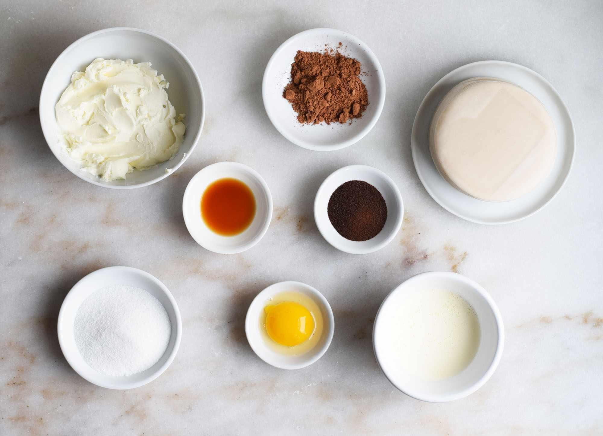 Dumpling Wrapper Tiramisu Crepe Cake ingredients