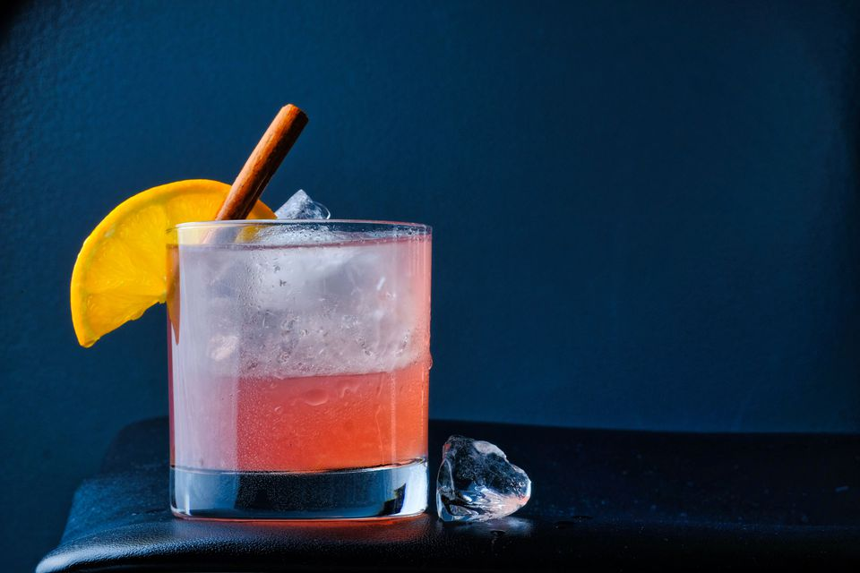 Spiced Cranberry Margarita