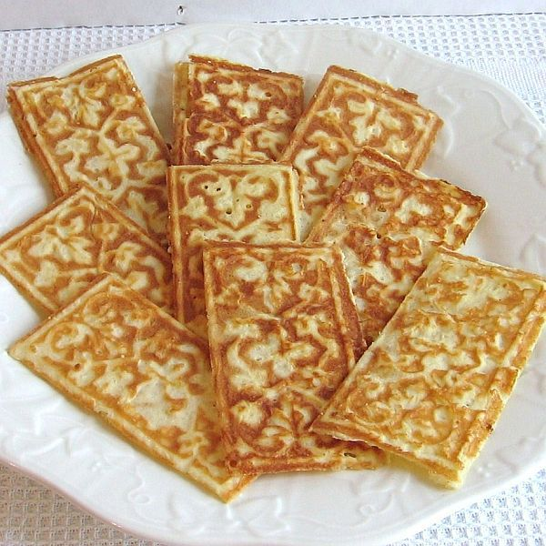 wafer cookies polish wafle