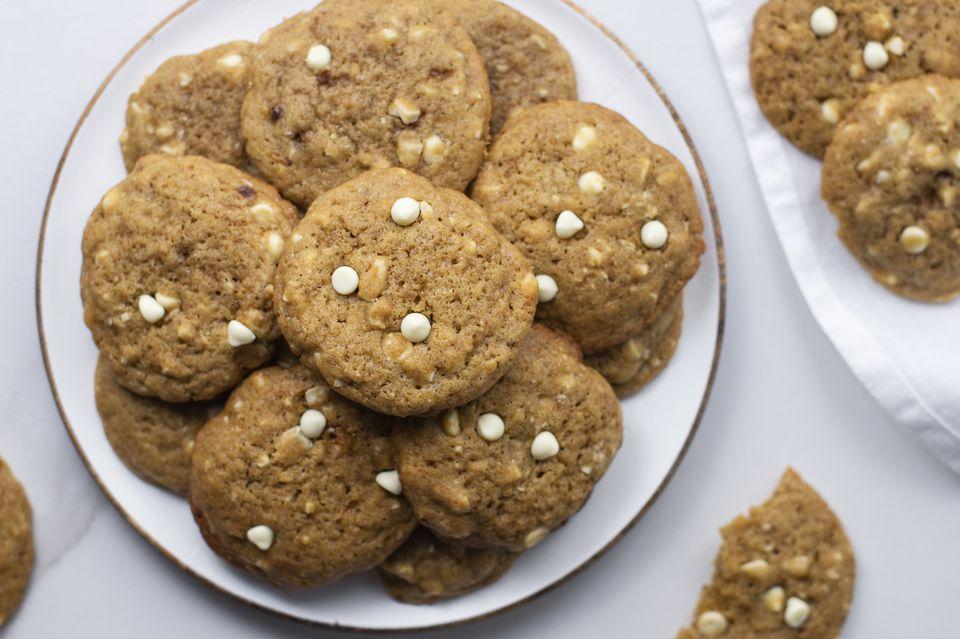 White chocolate cashew cookies recipe