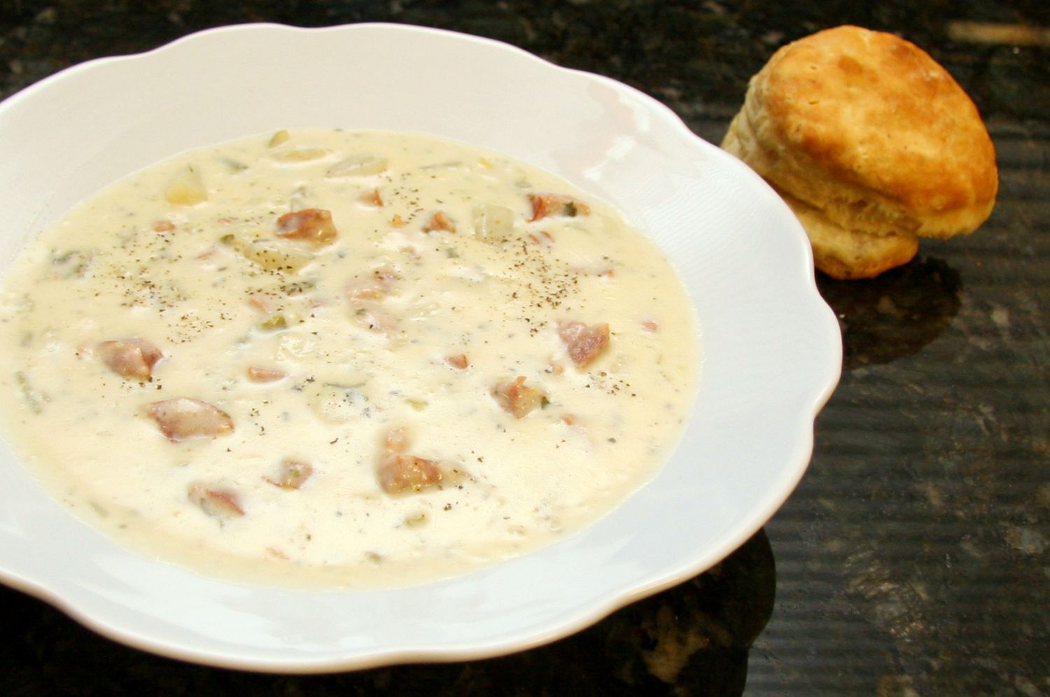 Potato Soup With Andouille Sausage