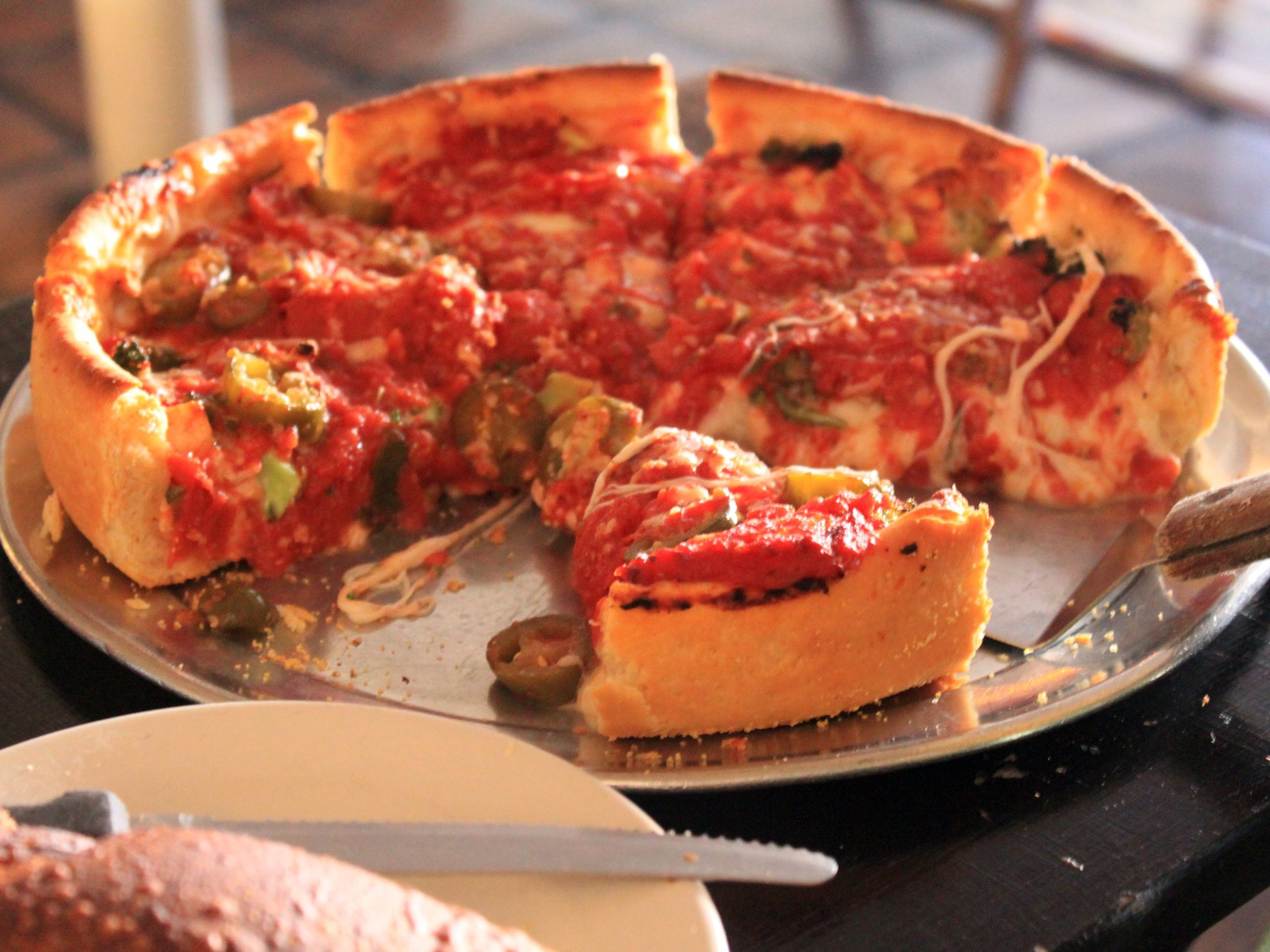 All About Chicago Style Deep Dish Pizza