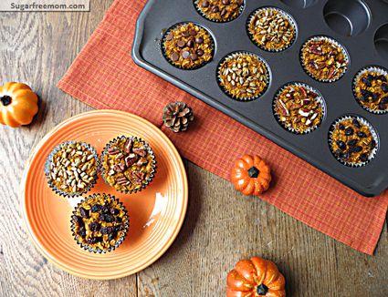 Pumpkin Baked Oatmeal Cups