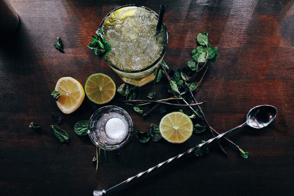 The Mojito is one of the many cocktails to use fresh herbs