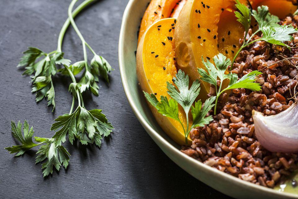 Hyacinth Bean Curry Bowl