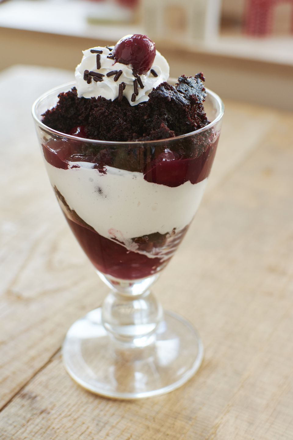 Black Forest Trifle Dessert
