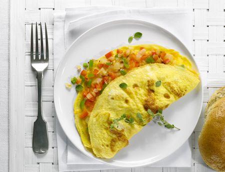 Image result for eating omelette in office