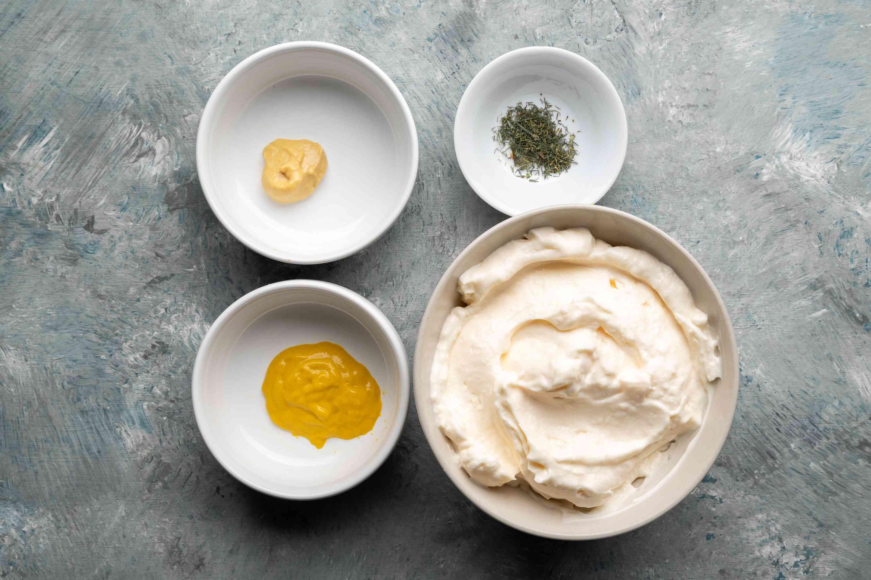 Mustard-Mayo Dip ingredients