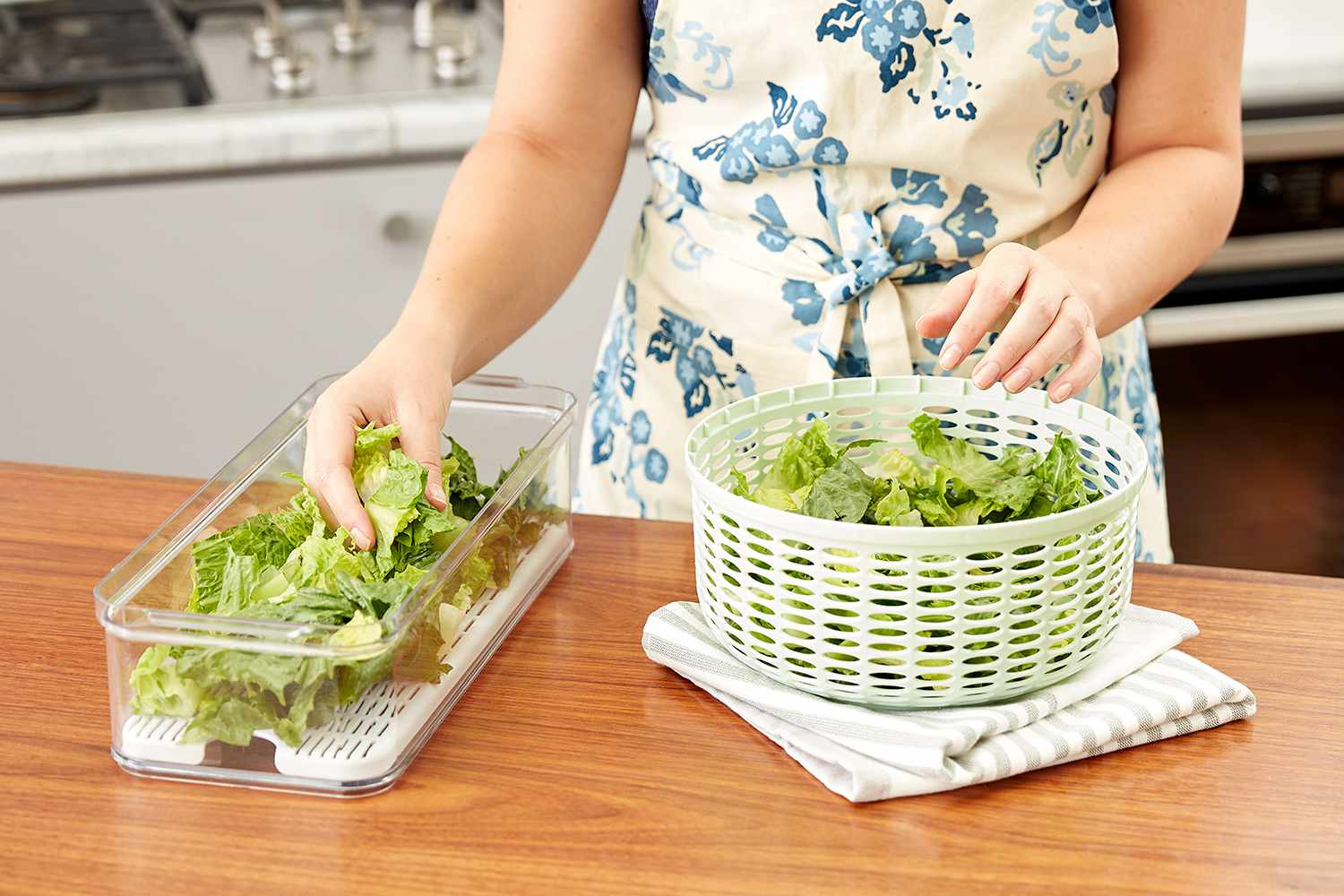 Lettuce storage Spruce Eats x Lowe's containers