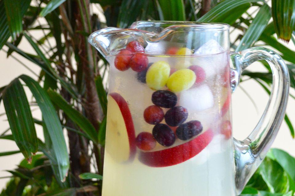 Sangría de plata de Nolet: un vino blanco y gin Punch You ' ll amor