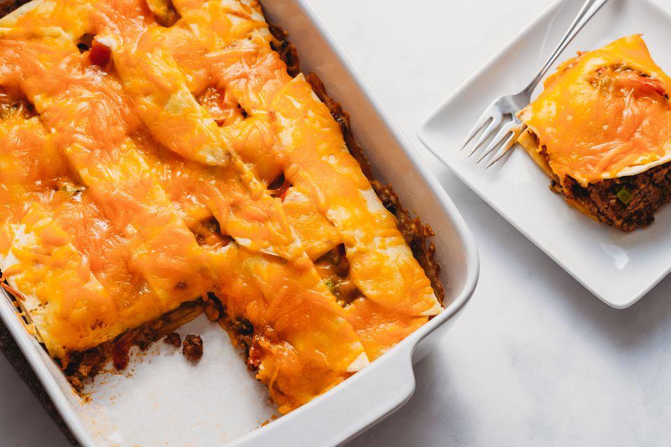 Easy Burrito Casserole Recipe