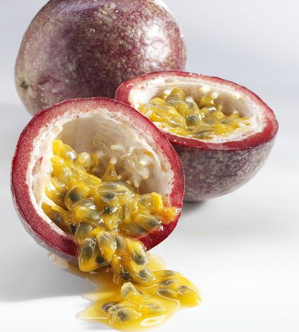 Passion fruit makes delicious truffles