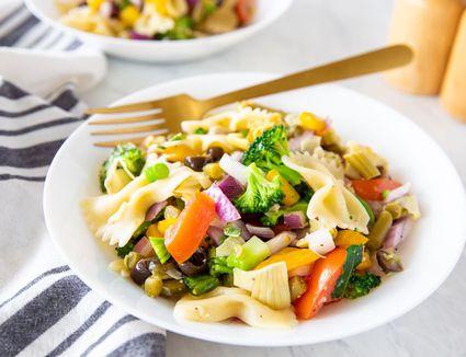 Fat-Free Vegan Pasta Salad