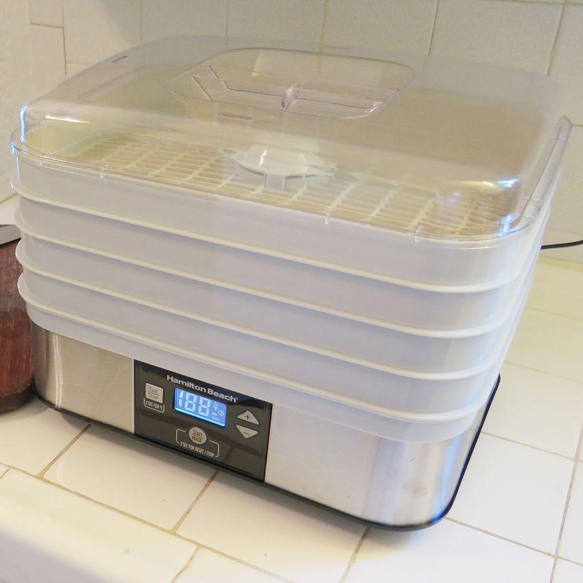 Hamilton Beach 5-Shelf Digital Food Dehydrator