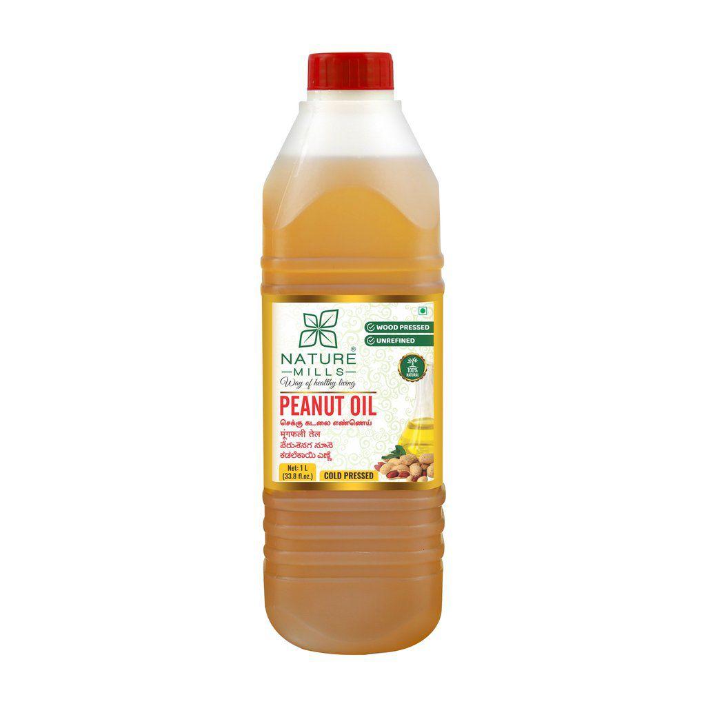 Nature Mills Natural Peanut Oil, 1 Liter