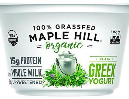 Maple Hill Organic Greek Yogurt