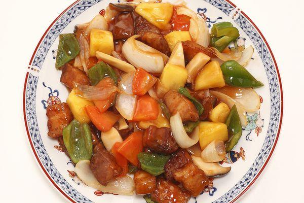 Chinese style marinated pork