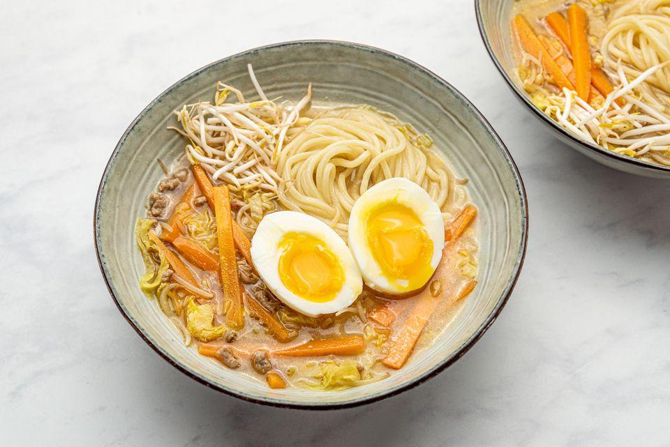 Miso Ramen Japanese Soup