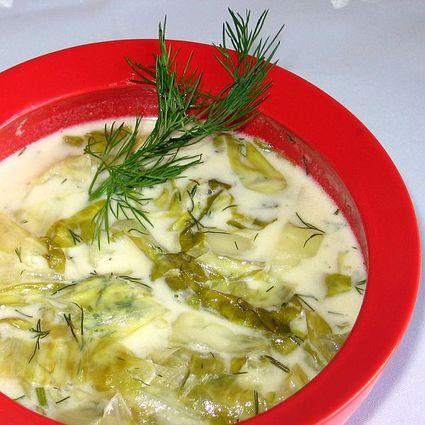 Slovak Lettuce Soup