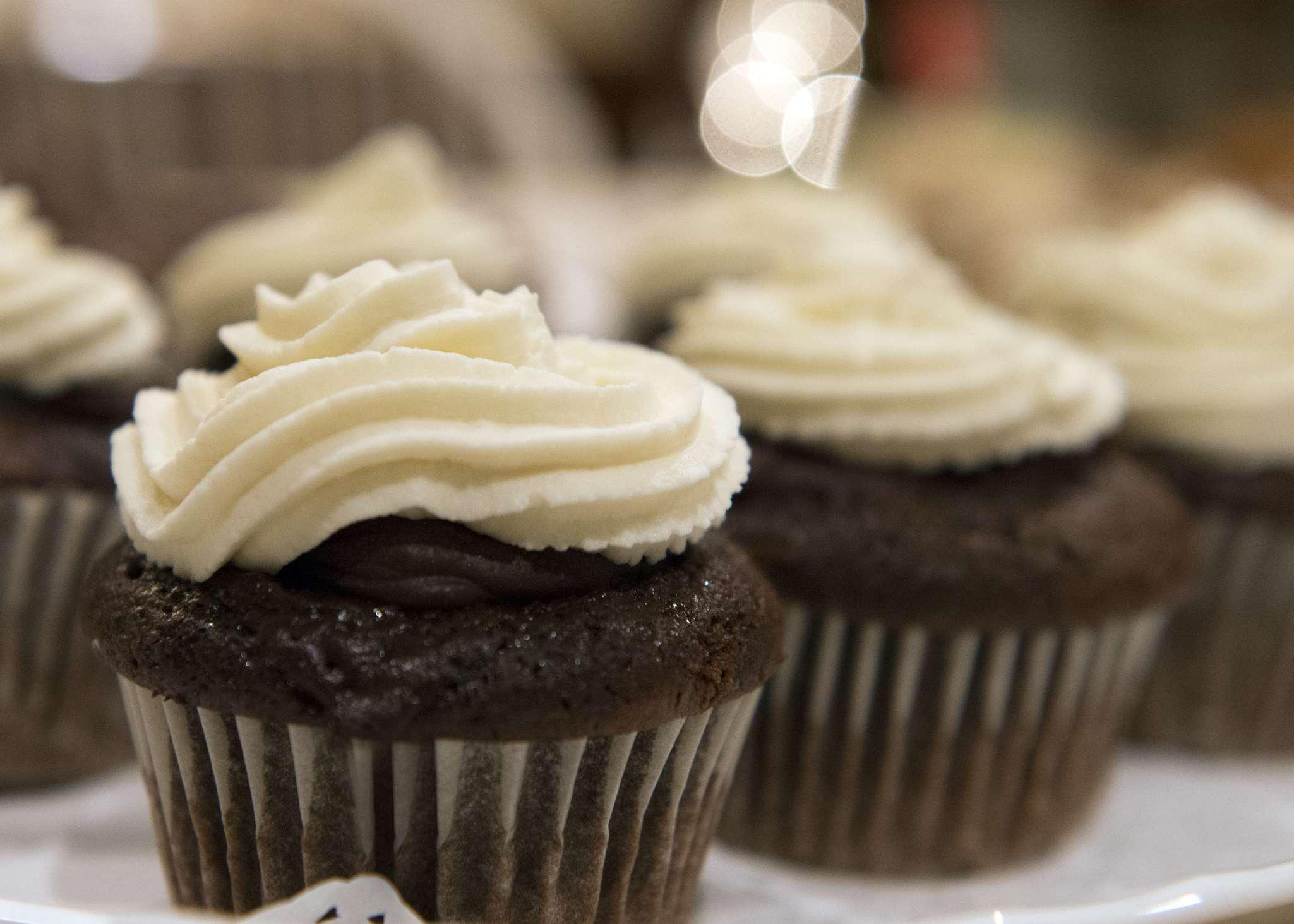 Gluten-free chocolate cupcakes