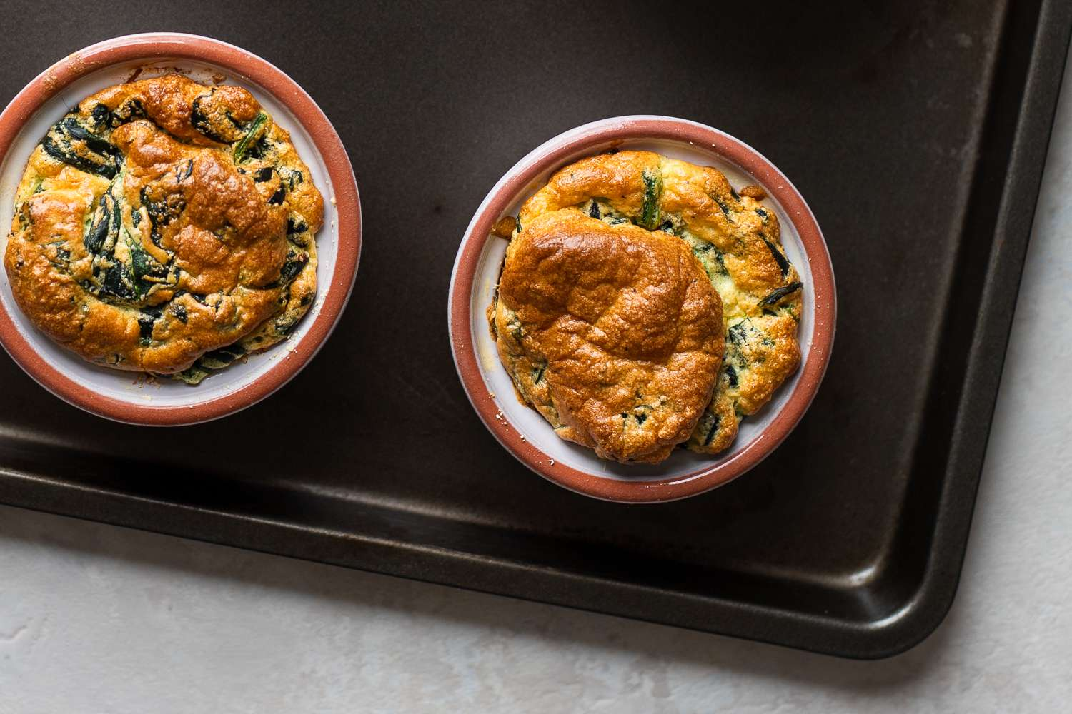 Easy Classic French Spinach Soufflé