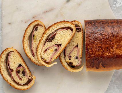 Pan de Jamón (Venezuelan Ham and Olive Bread)