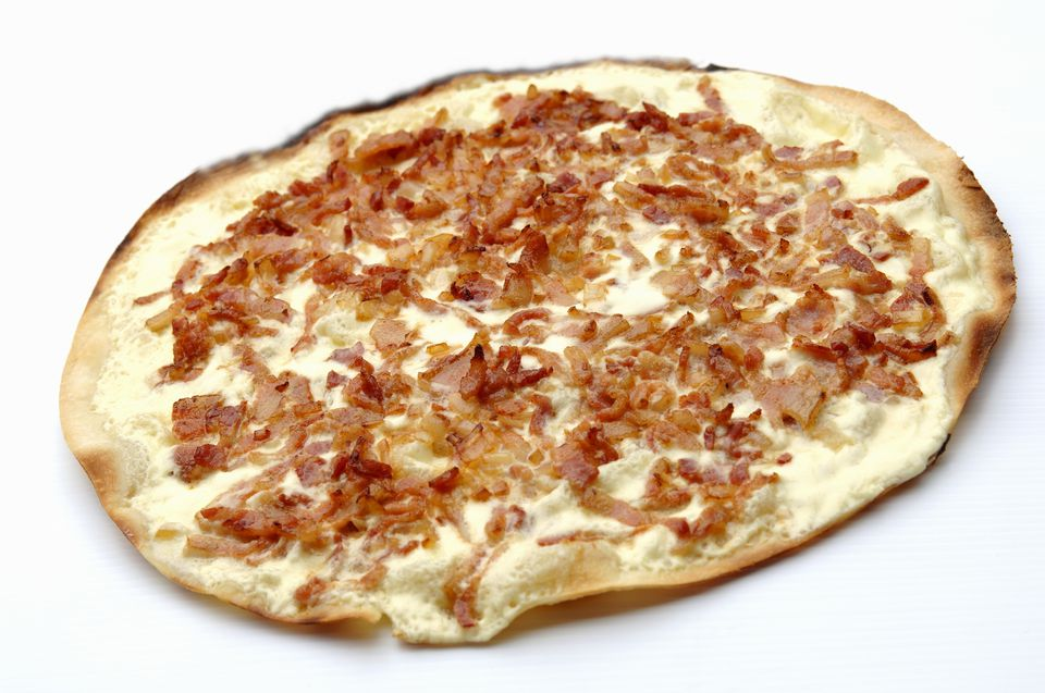 bacon and onion tart
