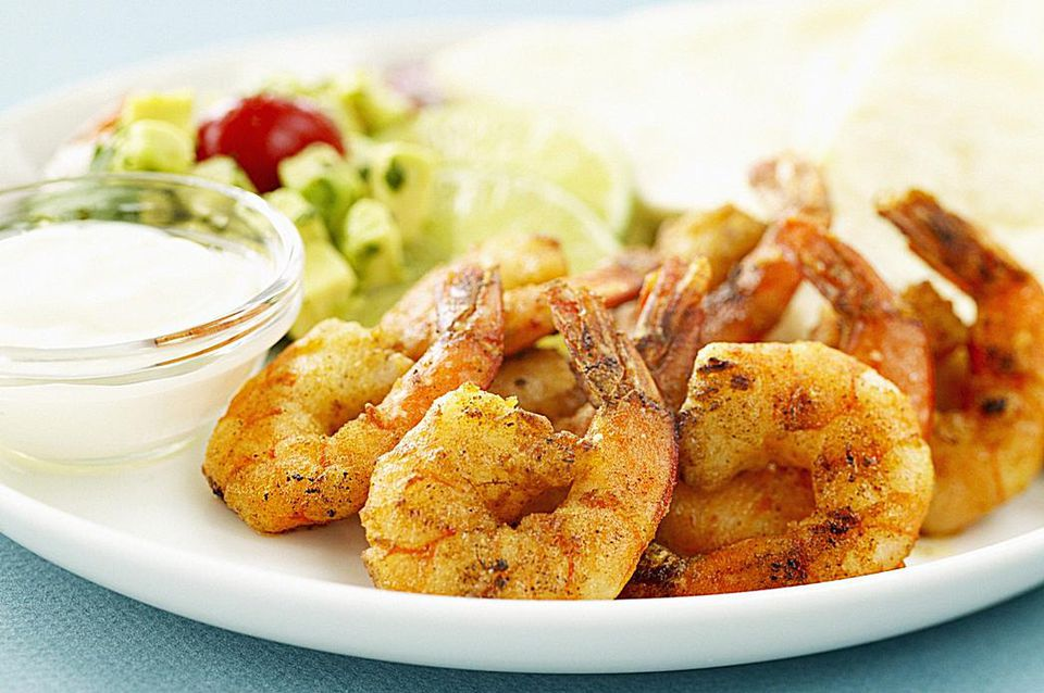 Spicy Orange Grilled Shrimp