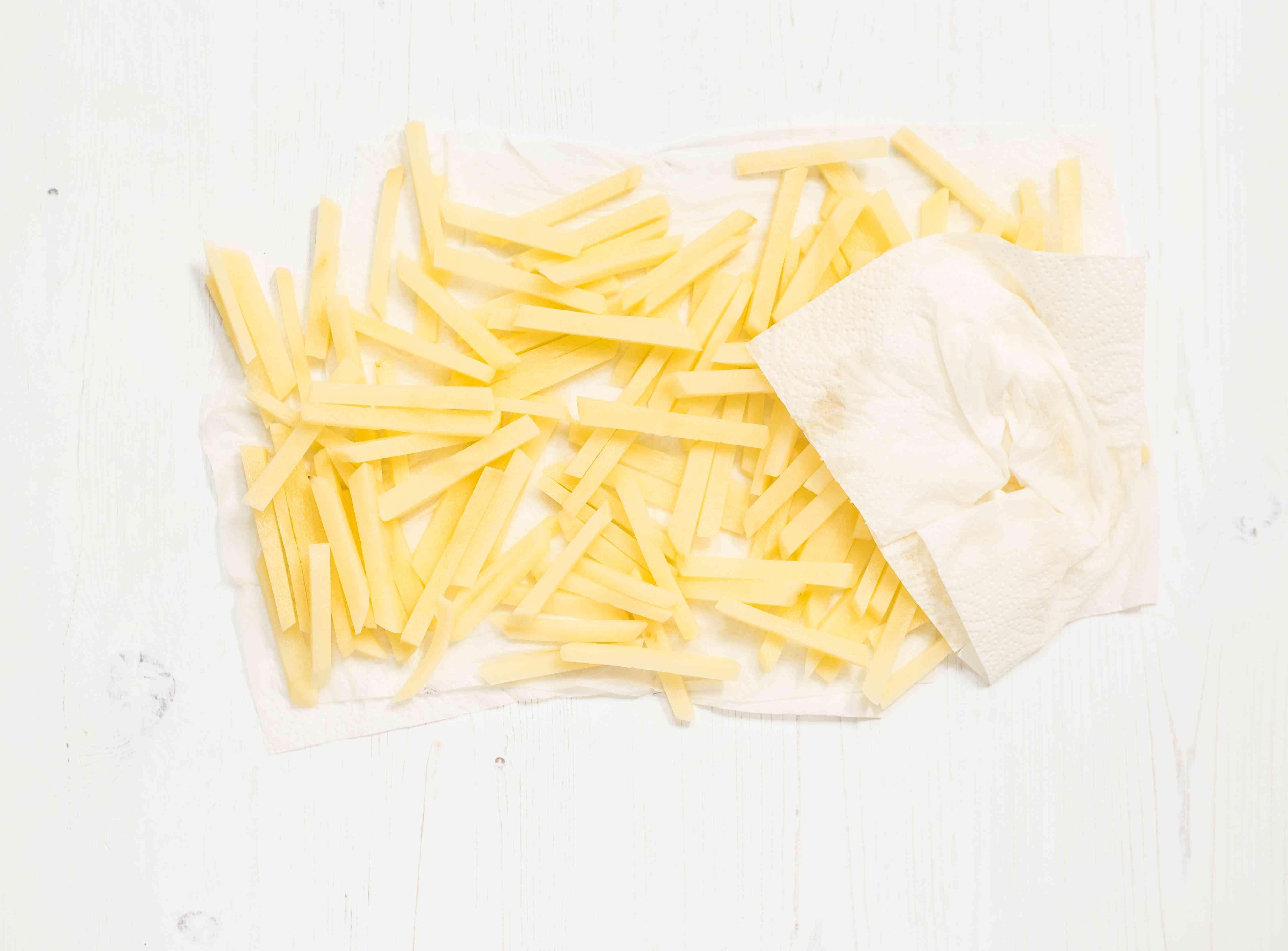 Drain the potatoes