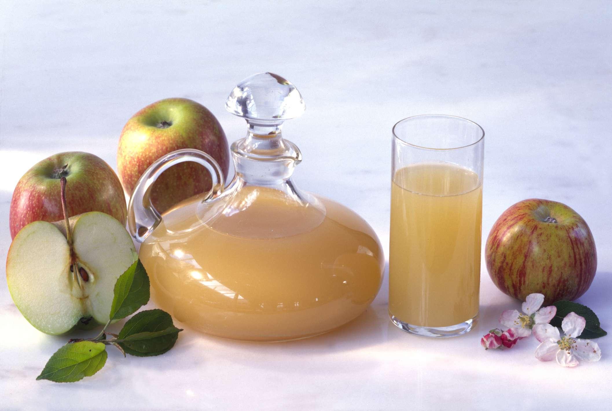 Apple cider vinegar fire tonic