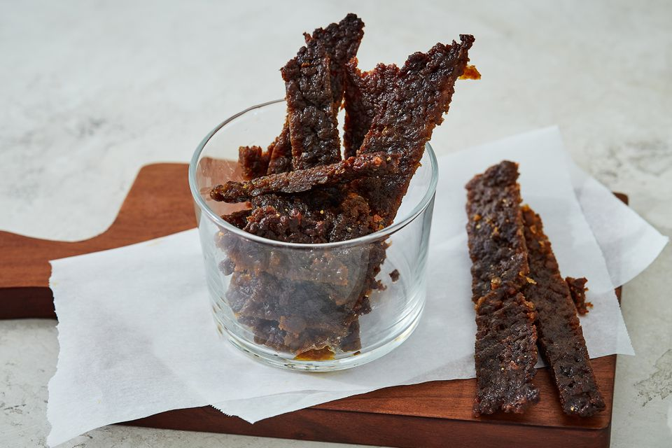 Jerky Made From Dehydrated Ground Beef