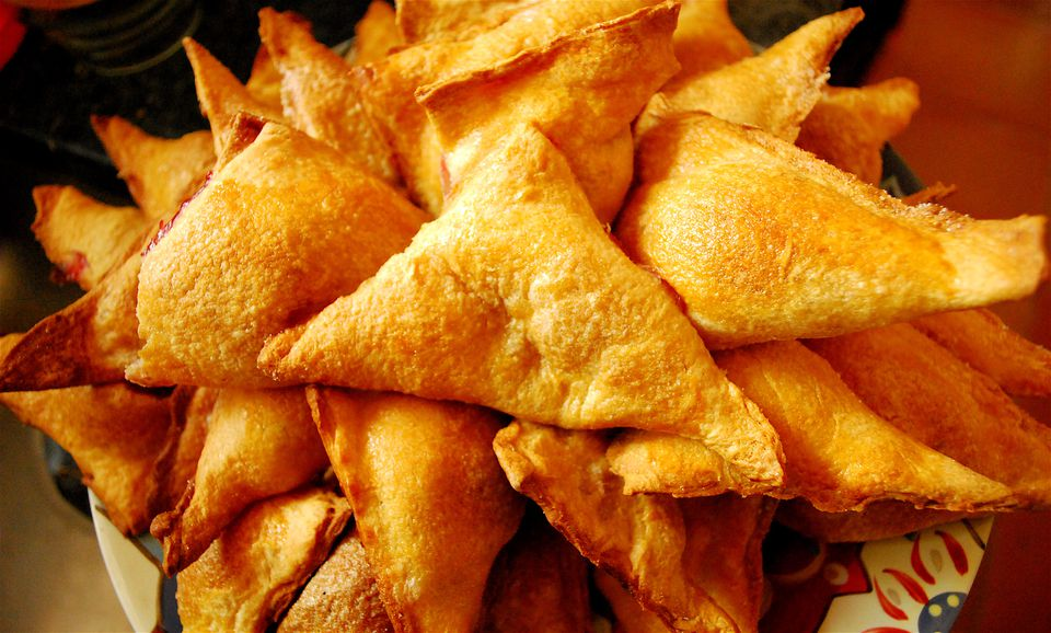 Empanadas fáciles de hojaldre de mango - Pastelillos de mangos