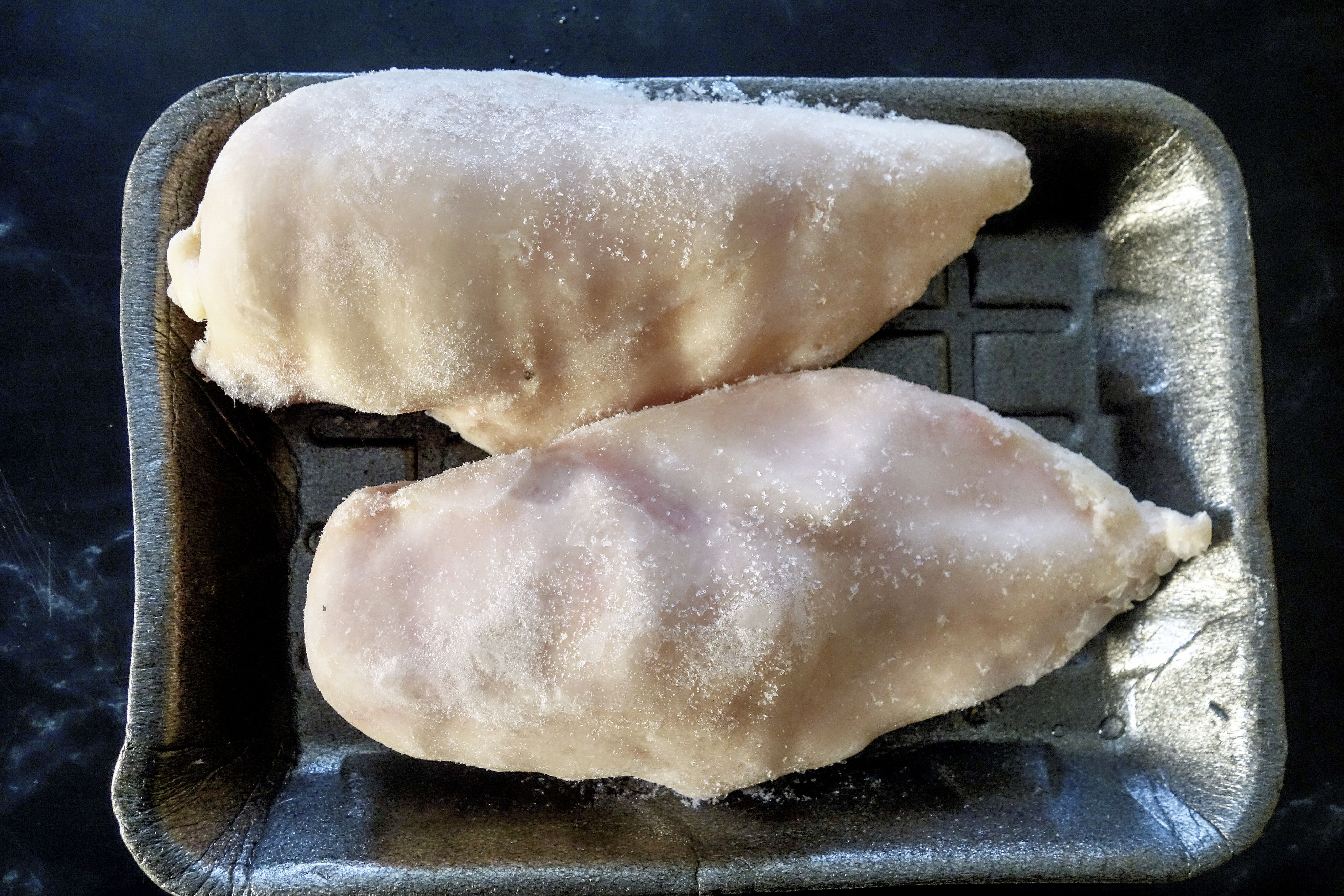 Pack of Two Frozen Chicken Breasts