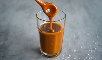 Salted Caramel Sauce finished