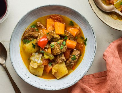Spanish beef stew recipe